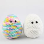 free egg amigurumi pattern easter