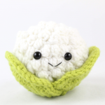 free amigurumi patterns cauliflower food crochet
