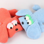 free amigurumi pattern dog puppies crochet