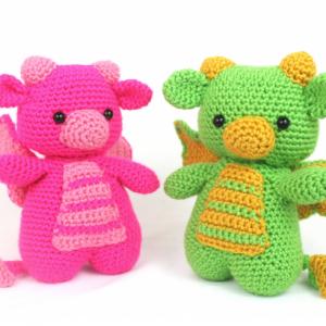 free dragon amigurumi pattern crochet