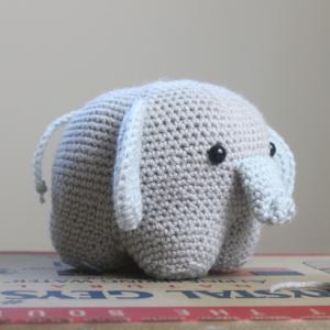 elephant amigurumi crochet patterns