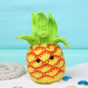 Free Pineapple Amigurumi Crochet Pattern
