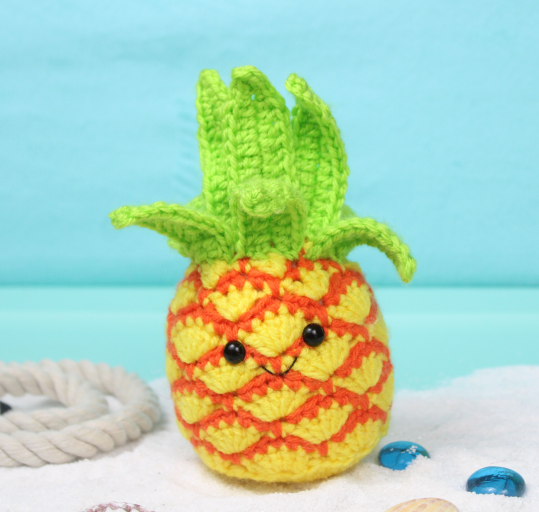 Free Pineapple Amigurumi Crochet Pattern