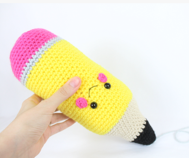 Free Amigurumi Crochet Patterns Pencil School