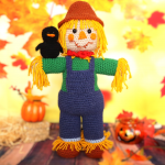 Scarecrow Amigurumi Doll – Free Crochet Pattern