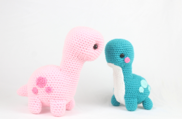 Free crochet pattern dinosaur amigurumi