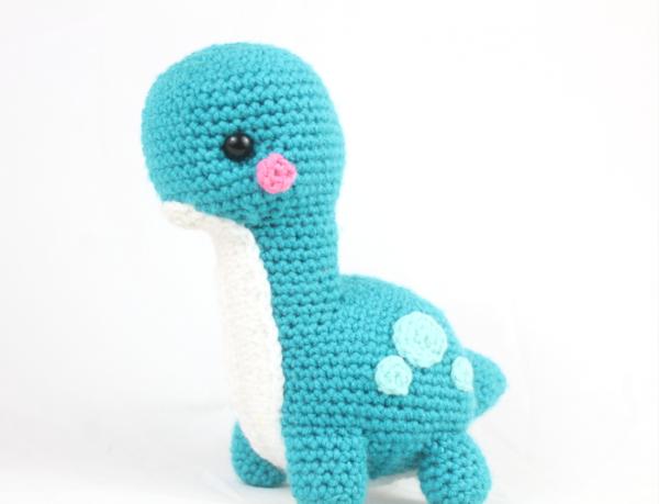 Free dinosaur crochet pattern