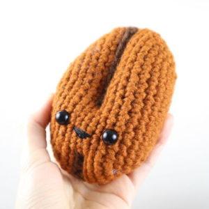 Free Coffee Bean Crochet Pattern