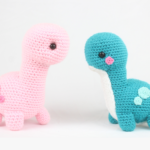 Brontosaurus Dinosaur Amigurumi – Free Crochet Pattern