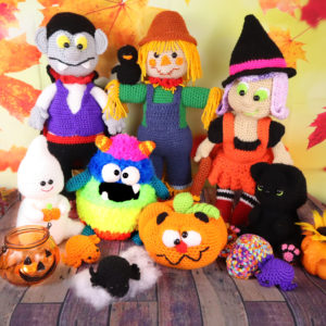 Halloween Amigurumi Crochet Pattern Bundle