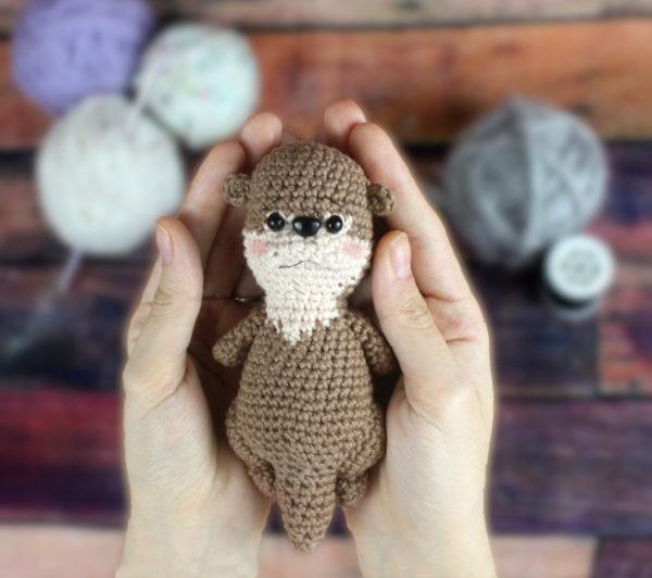 Free Otter Amigurumi Crochet Pattern