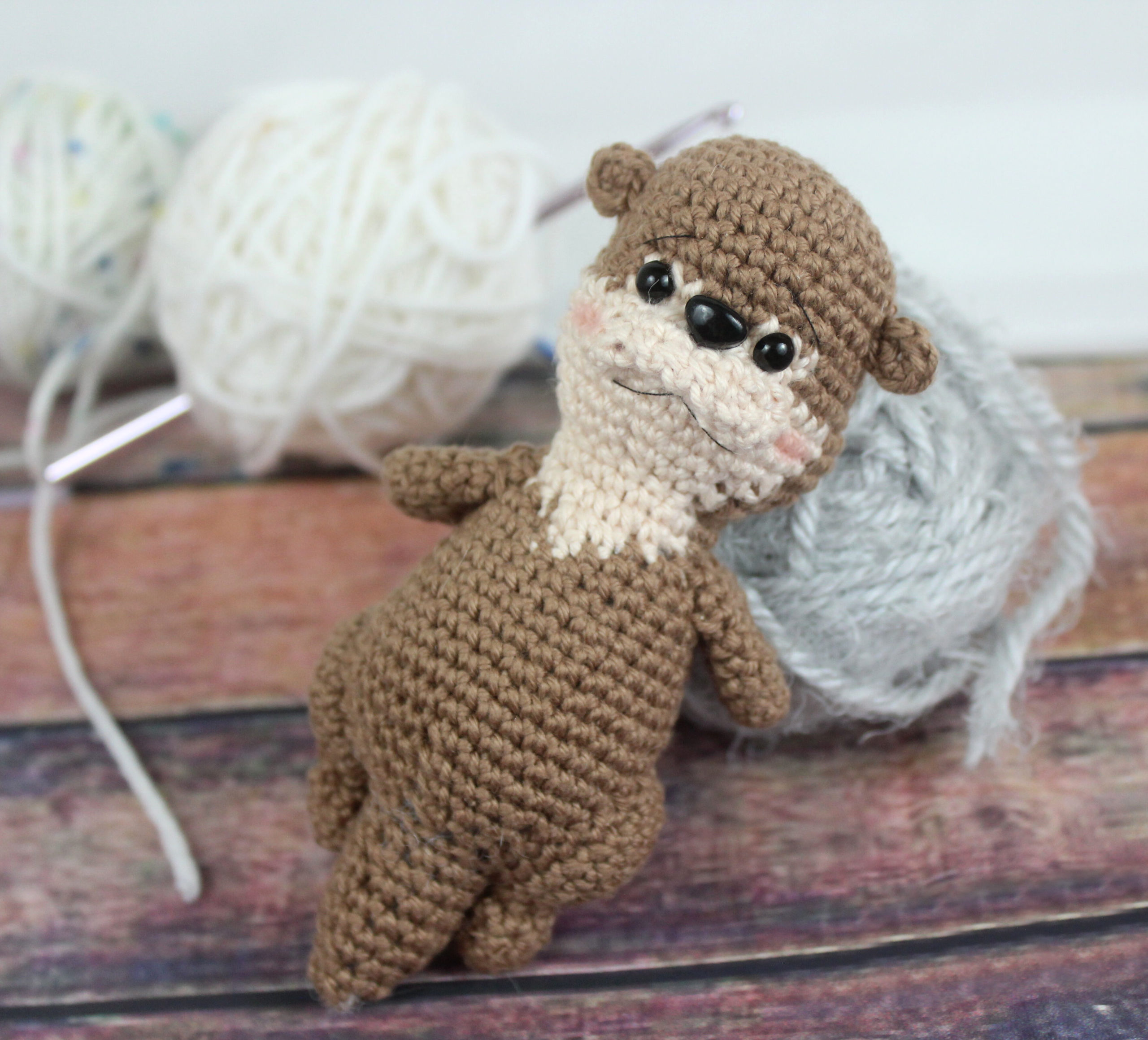 Little Otter Amigurumi – Free Crochet Pattern