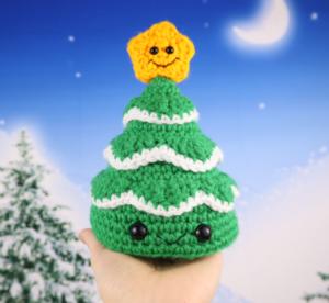 Free christmas tree amigurumi crochet pattern