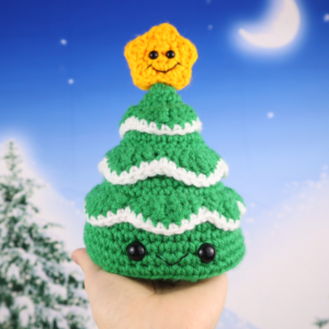 Free christmas tree amigurumi crochet pattern