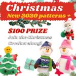 Join my Christmas Amigurumi Crochet Along + New 2020 Christmas Patterns!