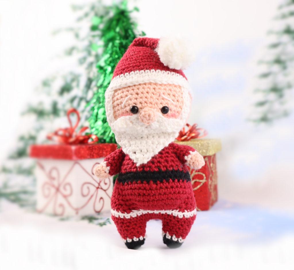 Free Santa Christmas Amigurumi Crochet Pattern