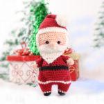 Chubby Santa Amigurumi – Free Crochet Pattern