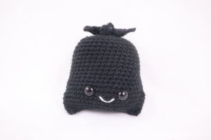 Free trash bag amigurumi crochet pattern