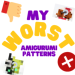 My Worst Amigurumis + Christmas Crochet Along Winner!