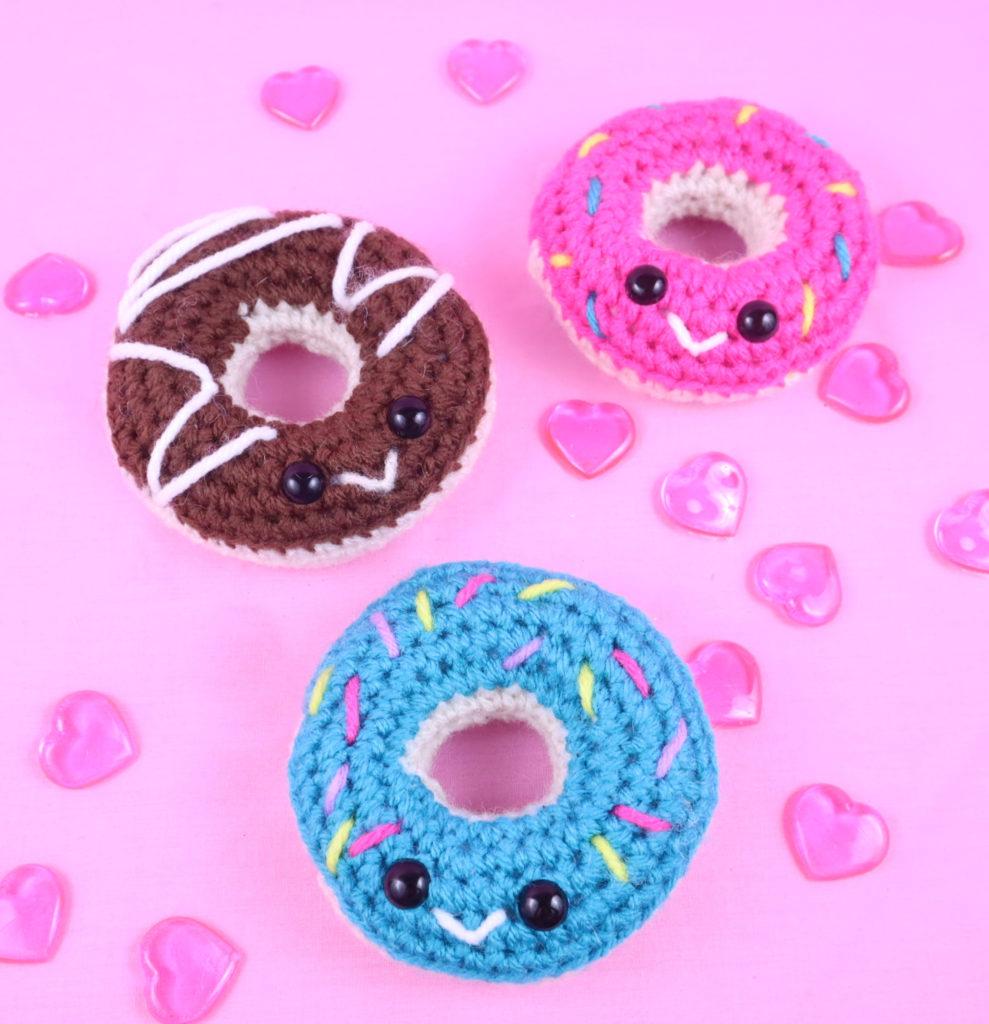 Free Crochet Pattern Donut Amigurumi PDF
