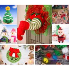 Christmas Amigurumi Bundle Crochet Patterns