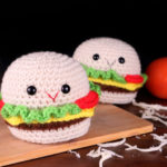 Free Hamburger Amigurumi Crochet Pattern No Sew
