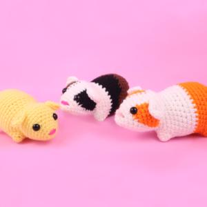 Free Guinea Pig Amigurumi Crochet Pattern