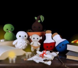 Free Wizard Bundle Amigurumi Crochet Patterns Fantasy