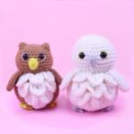 Owl & Snow Owl Amigurumi – Free Crochet  Pattern