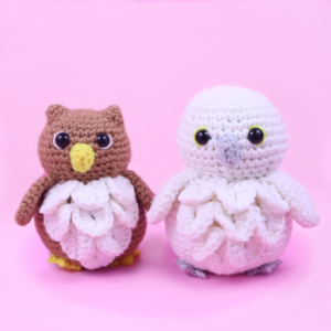 Free owl and snow owl amigurumi crochet pattern