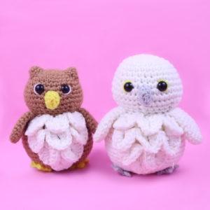 Free owl amigurumi crochet pattern