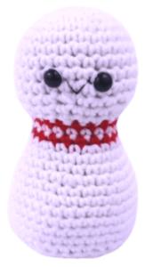 Bowling pin free amigurumi crochet pattern