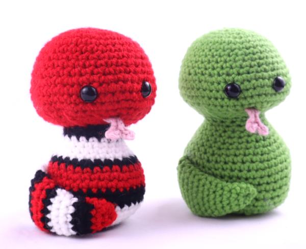 Free amigurumi crochet patterns snake