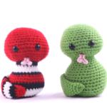 Snake Amigurumi – Free Crochet Pattern