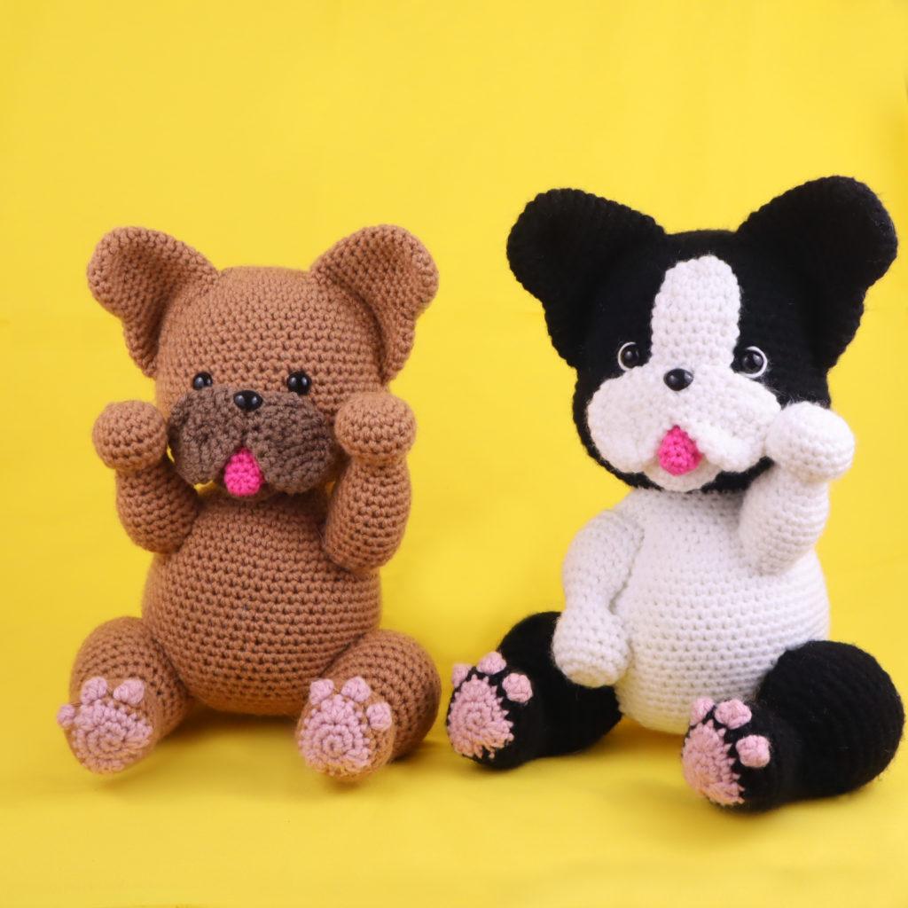 Free Amigurumi Crochet Patterns French Bulldog Boston Terrier