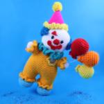 Clown Amigurumi Doll – Free Crochet Pattern