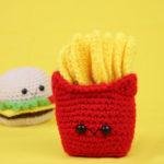 French Fries Amigurumi – Free Crochet Pattern