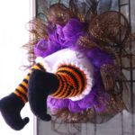 There's a Witch Stuck in my Wreath! – Free Halloween Wreath Crochet Pattern