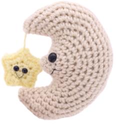 free moon amigurumi crochet patterns