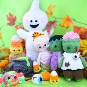 Free Halloween Amigurumi Crochet Pattern Bundle