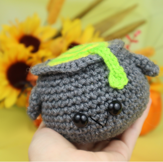Free cauldron amigurumi crochet pattern halloween witch