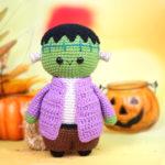 Frankenstein Halloween Doll Amigurumi – Free Crochet Pattern
