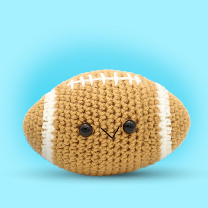 Free football amigurumi crochet pattern