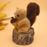Squirrel Amigurumi – Free Crochet Pattern