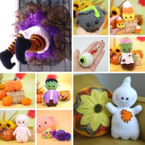 Halloween Crochet Pattern Bundle PDF